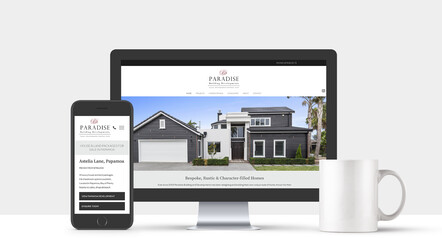 BUSINESS WEB DESIGN - Paradise Building & Developments | Papamoa